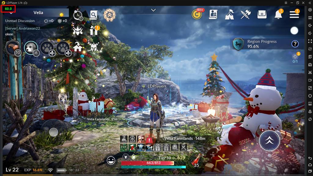 Black Desert Mobile 60 FPS
