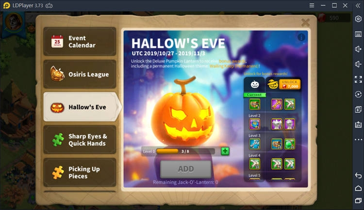 Hallow'S Eve On Rise of Kingdoms