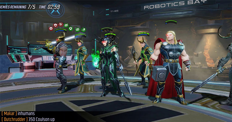 Marvel Strike Force Best Teams For F2p Early To Mid-Game