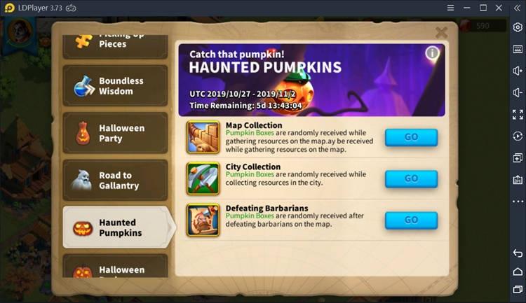 Haunted Pumpkins on Rise of Kingdoms