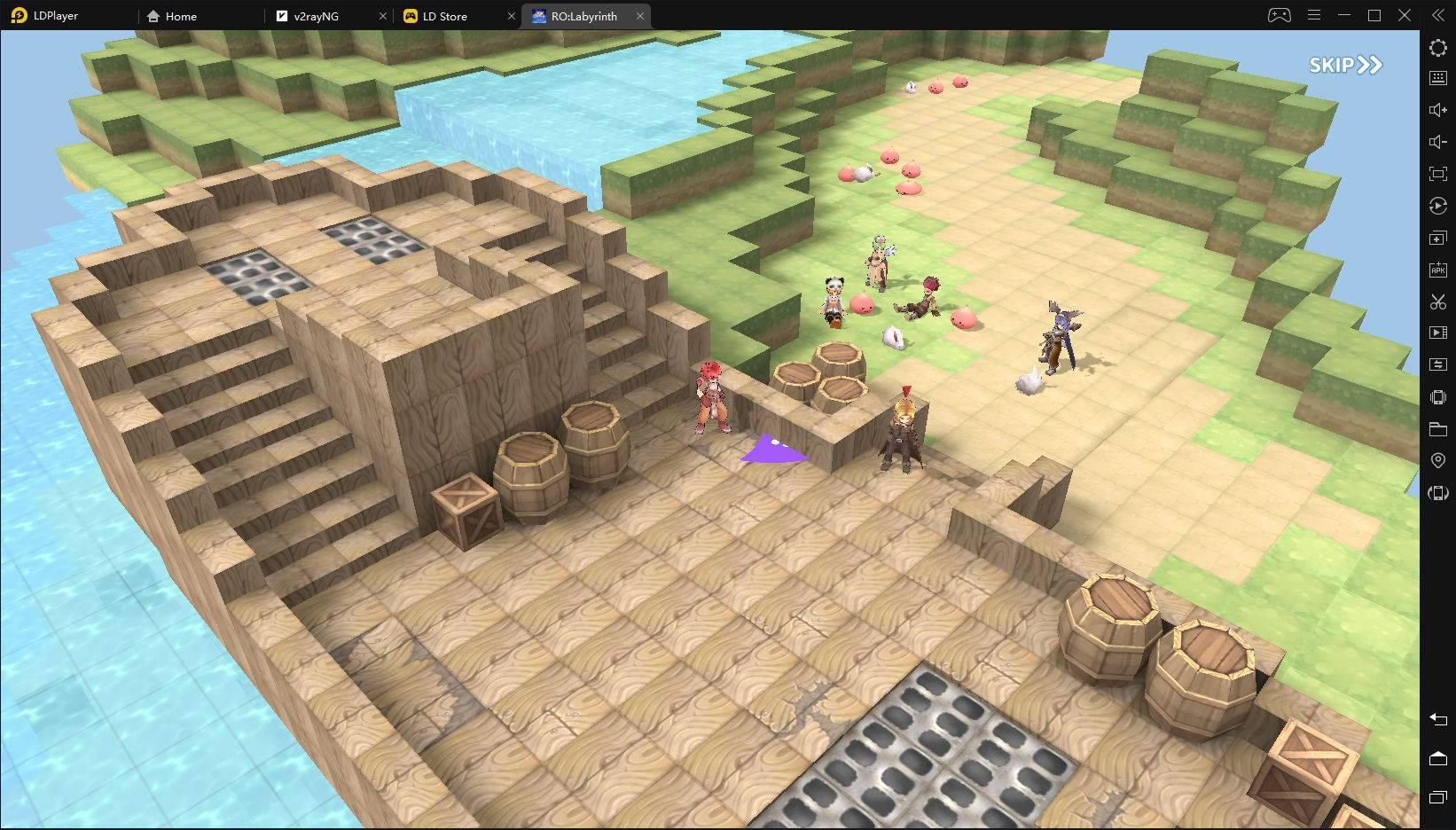 the labyrinth of ragnarok
