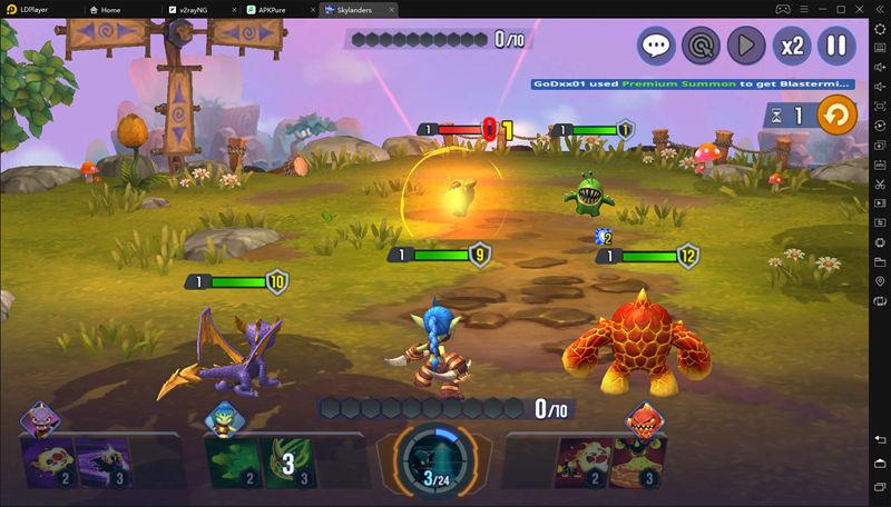 enjoy play Skylanders™ Ring of Heroes