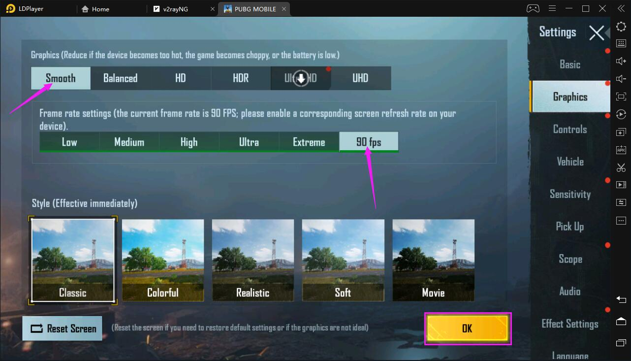 How to Play PUBG MOBILE at 90 FPS on LDPlayer