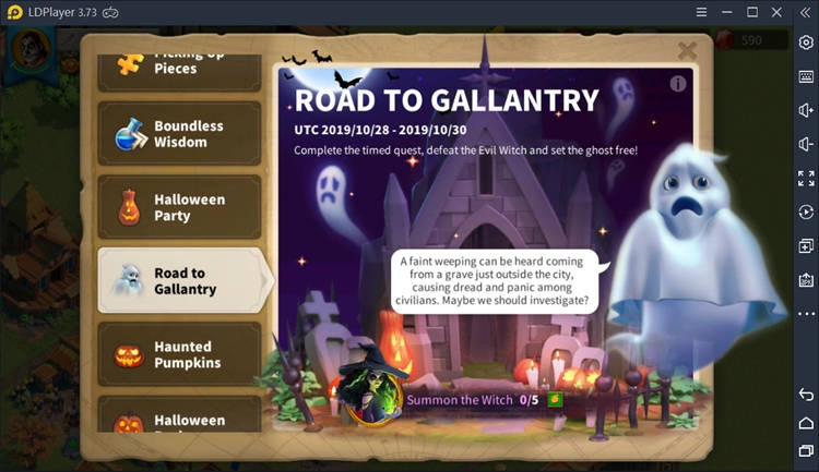 Road to Gallantry on Rise of Kingdoms