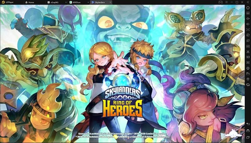 play Skylanders™ Ring of Heroes on pc