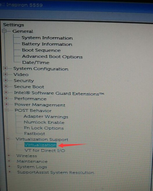 Enable Virtualization Technology (VT) on Dell desktop and laptop