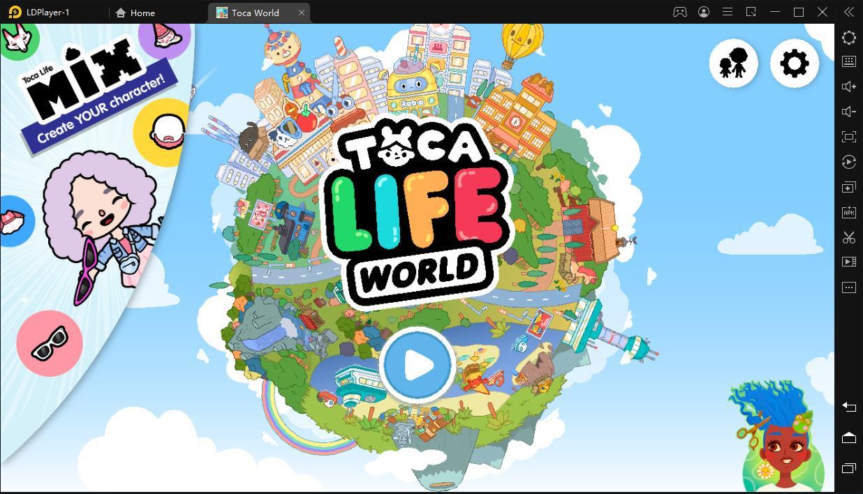 Cómo jugar Toca Life: World gratis en PC