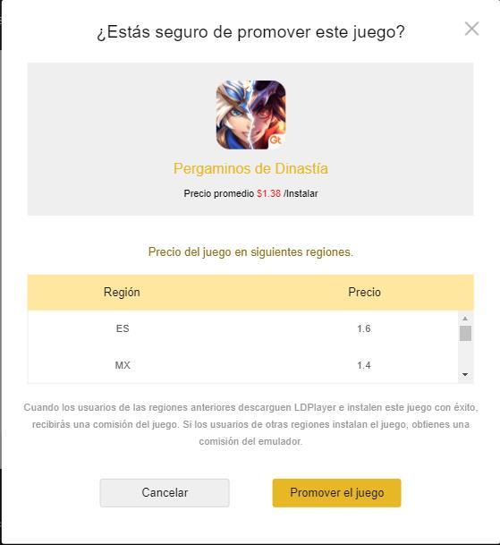 OFERTAS DE JUEGO - Nuevo proyecto de Programa de Afiliados de Afiliados
