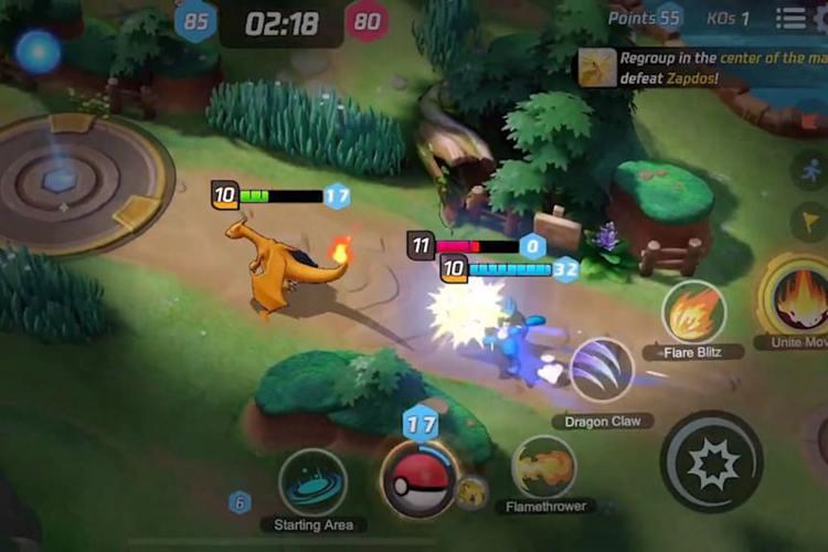 Télécharger Pokémon UNITE