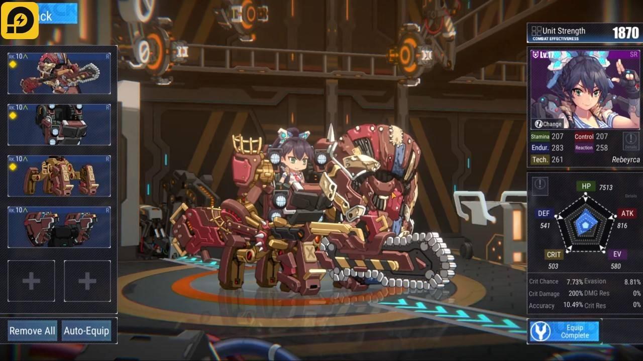 Final Gear, Game Mecha yang Isinya'Waifu: Preview dan Praregistrasi di LDPlayer