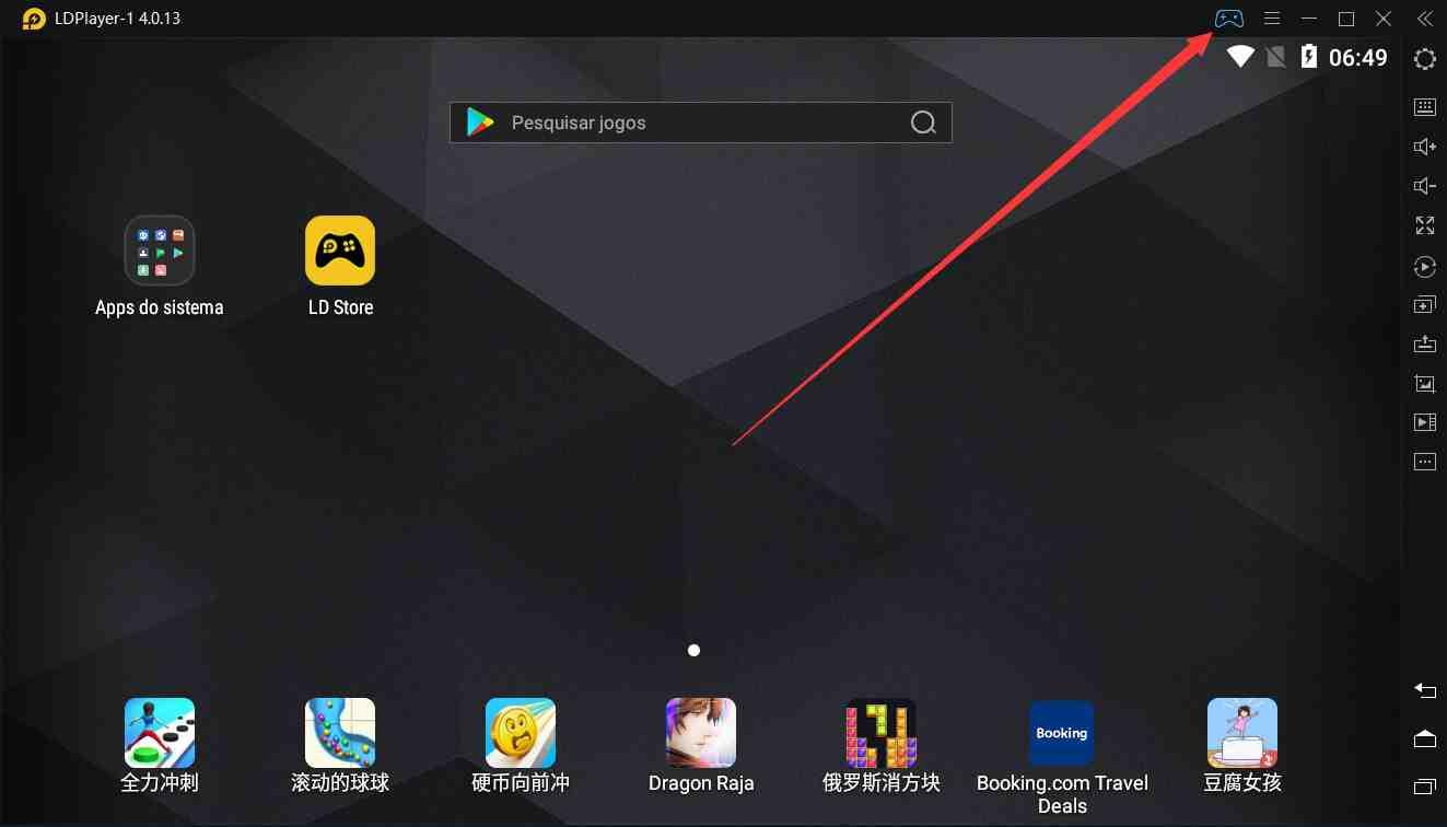 Como usa Gamepad no emulador |  Guia de uso de emulador