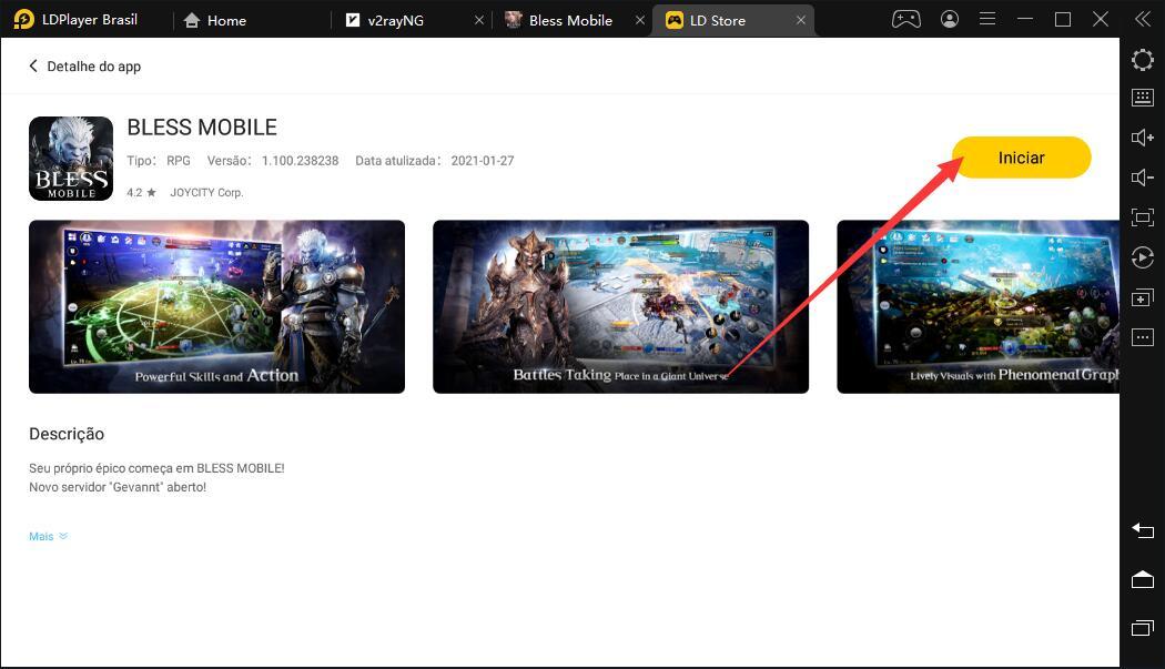 Como jogar BLESS MOBILE no PC com LDPlayer?