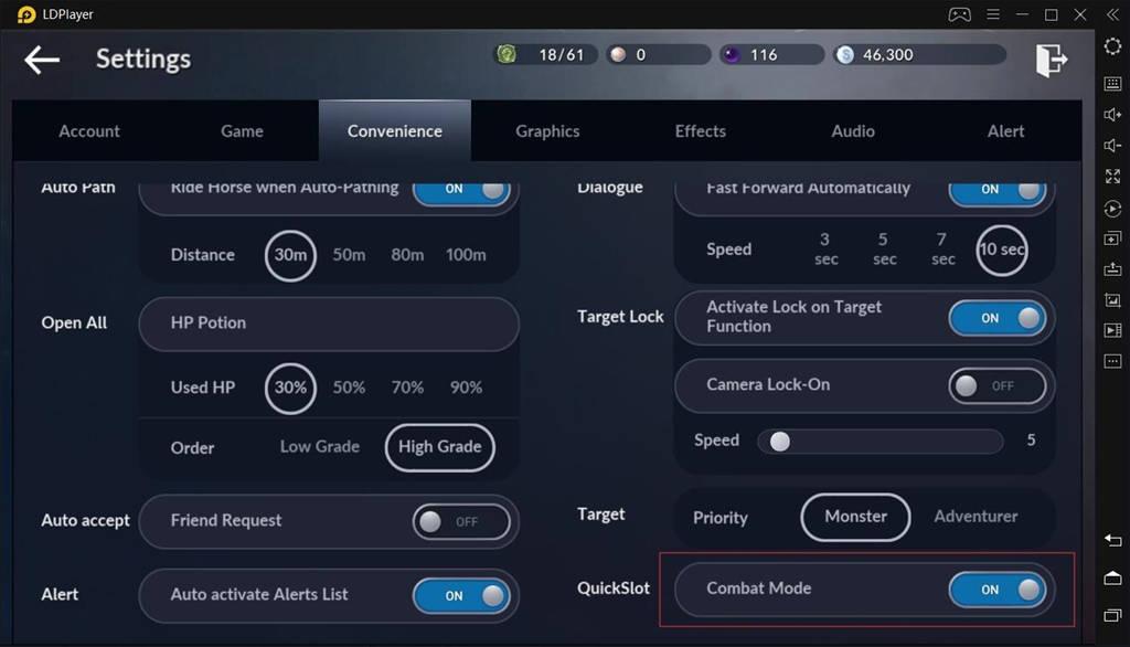 Melhores configurações para jogos Black Desert Mobile no PC