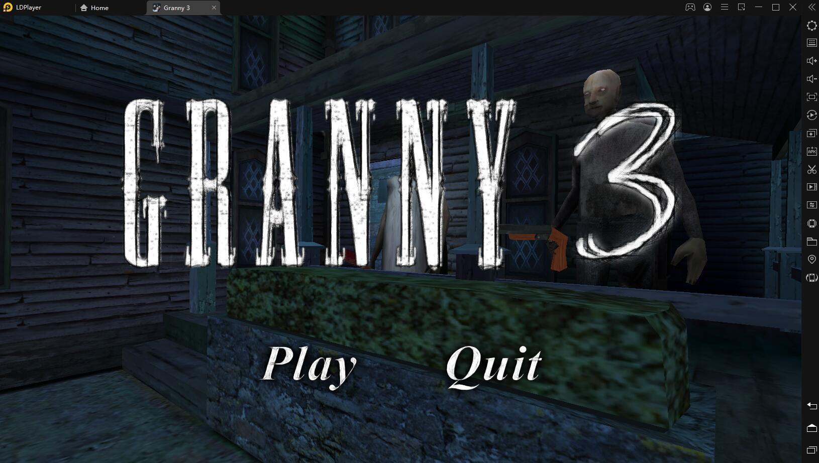 Играть в «Granny 3» бесплатно на пк