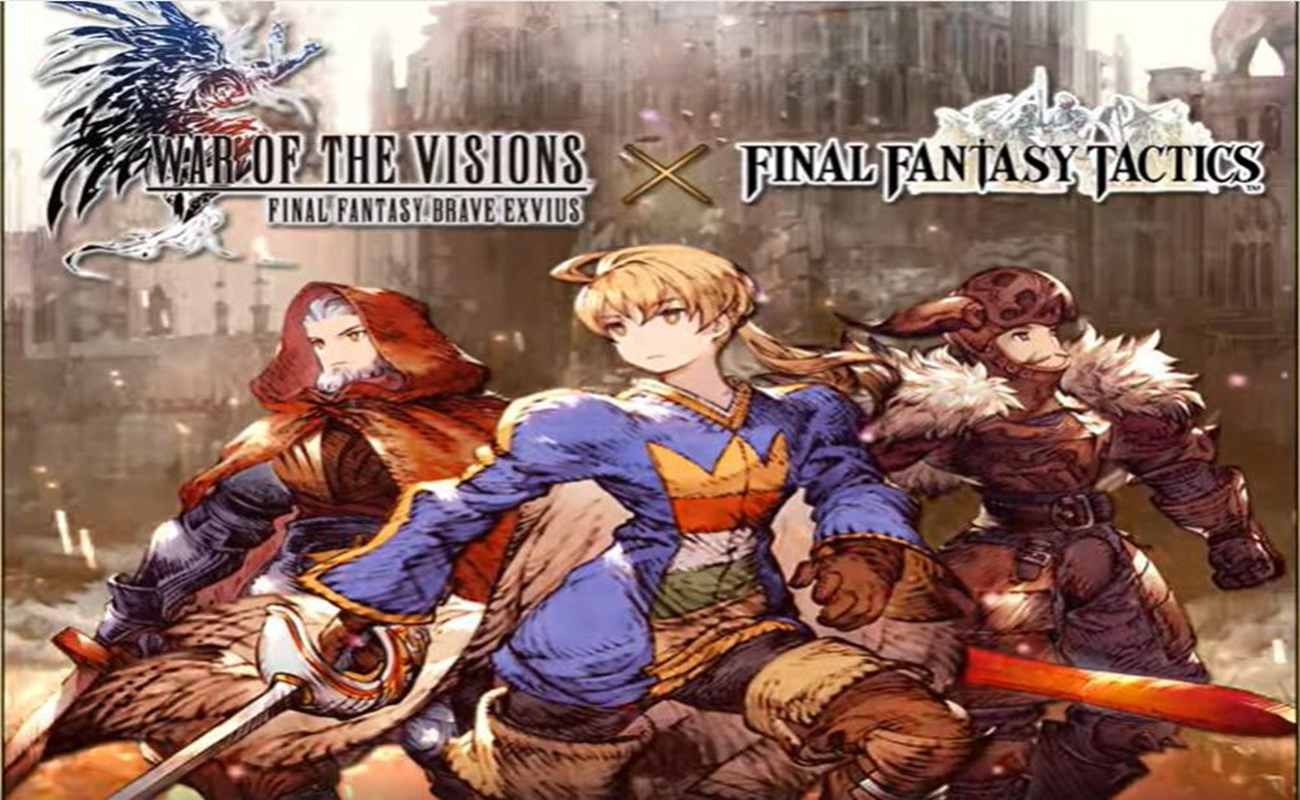 WOTV FFBE & FF Tactics Collaborative Sum...