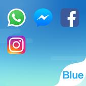 Dual Space - El Tema Fresh Blue